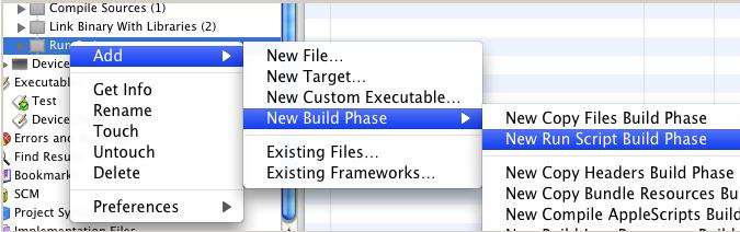 Step 4: Create a new Build Step