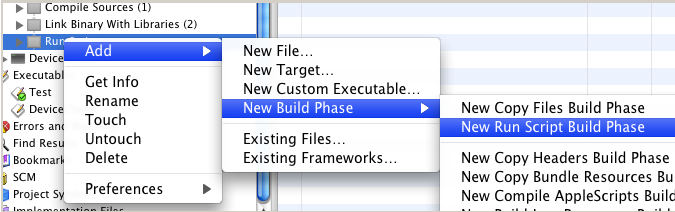 Step 4: Create a new Build Step