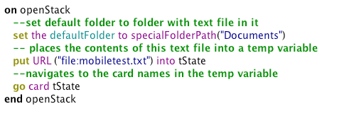 Load this state from the text file