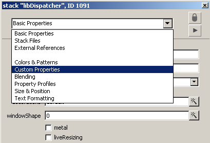 Using the Property Editor