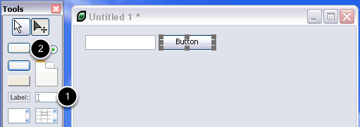 Adding controls to the stack