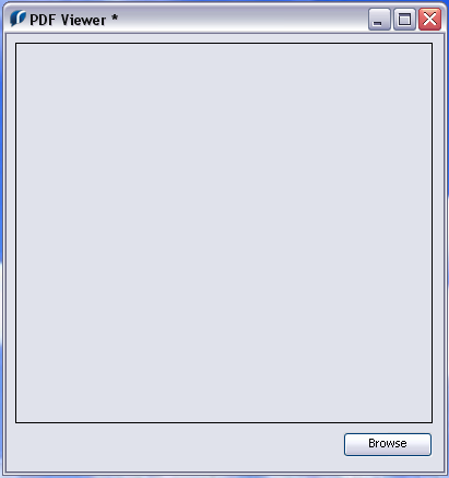 Displaying a PDF within a Rev stack