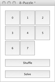 The 8-Puzzle Board (Ready to Play)