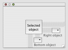 Resizing without using the geometry manager