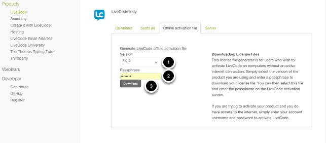 Create your passcode