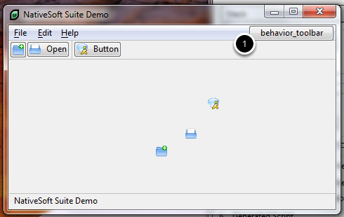 Fifth - The toolbar buttons hovering action