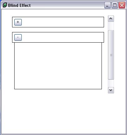 Adding a scrollbar to the list
