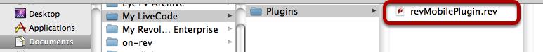 Add custom plugin files