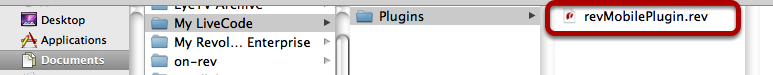 Add custom plugin files