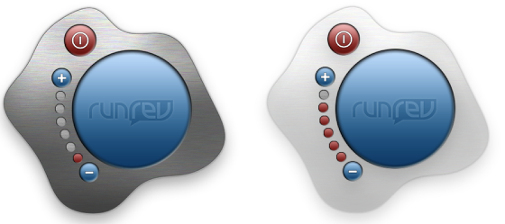 Step 3: Changing the transparency with buttons