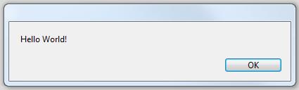 Using a dialog box