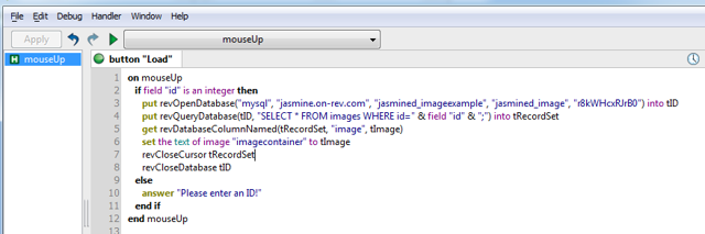 Add code to retrieve image
