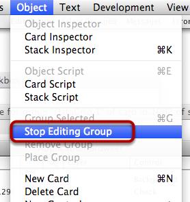 Stop Editing Group