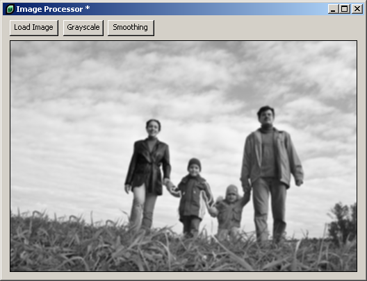 Processing a Grayscale Image