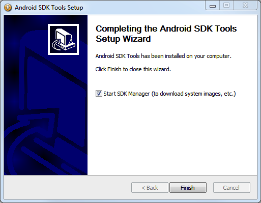 Installing the Android SDK (2)