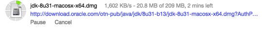 Downloading Java SDK (JDK)