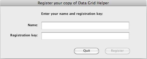 Registring the DGH Copy