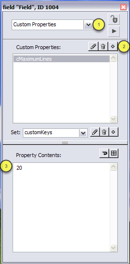 Creating Custom Properties using the Property Inspector
