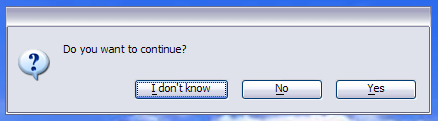 The Answer Dialog