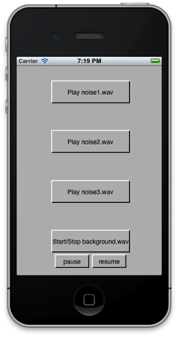 4. Controlling audio playback