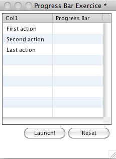 Testing The Result - Step 2 : Creating a Script for Managing our Progress Bar Column
