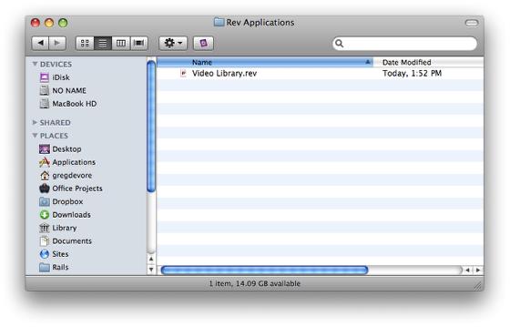 Locate Stack File