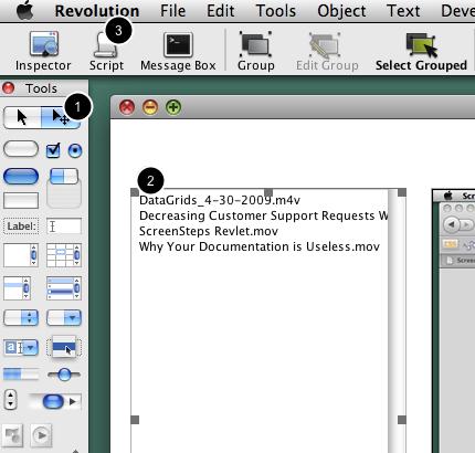 Edit the List Field Script