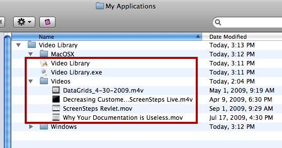 Copy Videos Folder