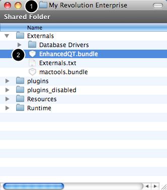 Add External to Externals Folder