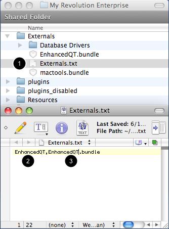 Update Externals.txt File