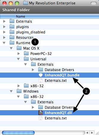 Add External To Runtime Folder