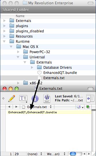 Update Externals.txt Files