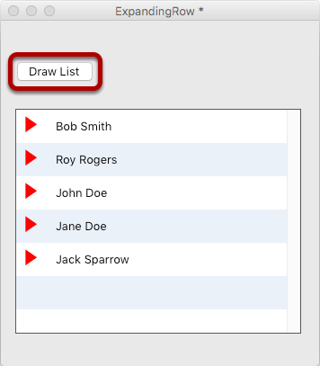 Populating The Form Data Grid