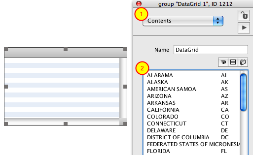 Populate Data Grid Using Object Inspector