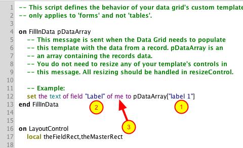 Edit the Behavior Script
