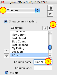 Add Line Number Column