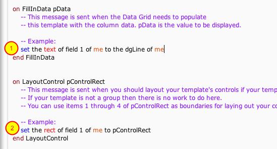 Edit Behavior Script