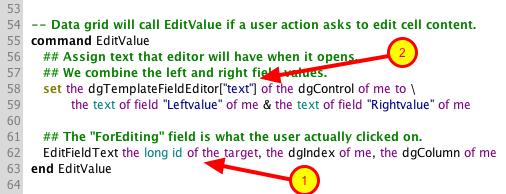 Update EditValue