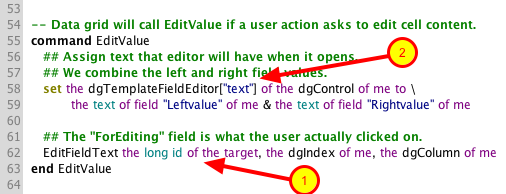 Update EditValue