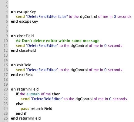 Customize Your Script