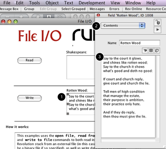 Create the Text to Write to File