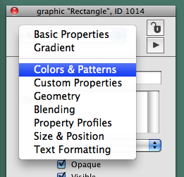Select Colors & Patterns