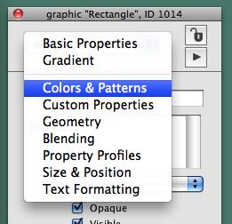 Select Colors & Patterns