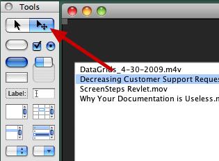 Select Edit Tool