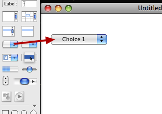 Create An Option Button