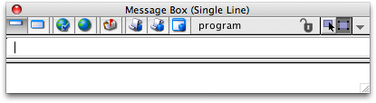 Open the Message Box