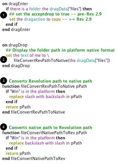 Add revTalk To Field Script