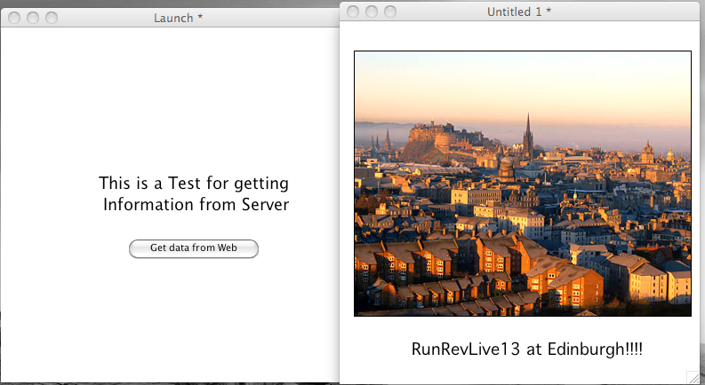 Step 5: Running the Standalone to get the stack from the server