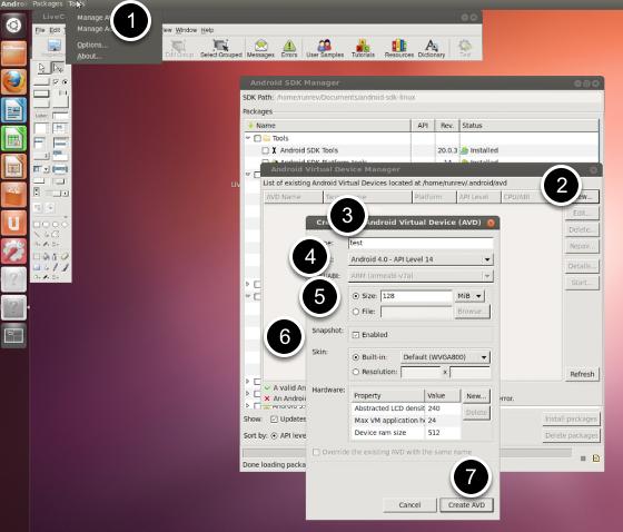 Configuring a Virtual Device