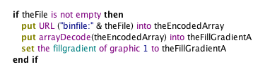 Loading an Array From a File